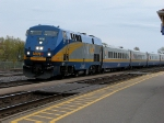 VIA 906 wtih 61 at Cobourg.